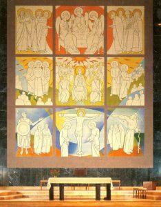 Retábulo na Igreja da Benedita